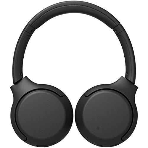 ソニーワイヤレスヘッドホンWH-XB700:重低音モデル/AmazonAlexa搭載/bluetooth/最大30時間連続再生2019年モデル/マイク付き360RealityAudio認定モデルブラックWH-XB700BC