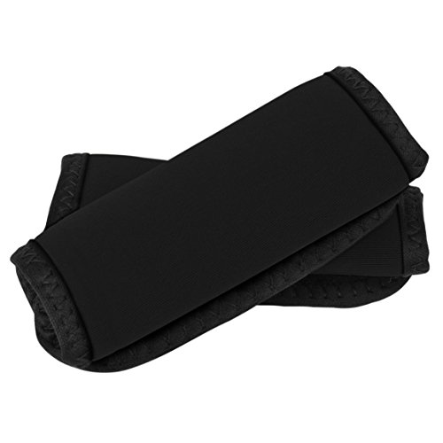 Travelon Set of 2 Handle Wraps, Black, One Size