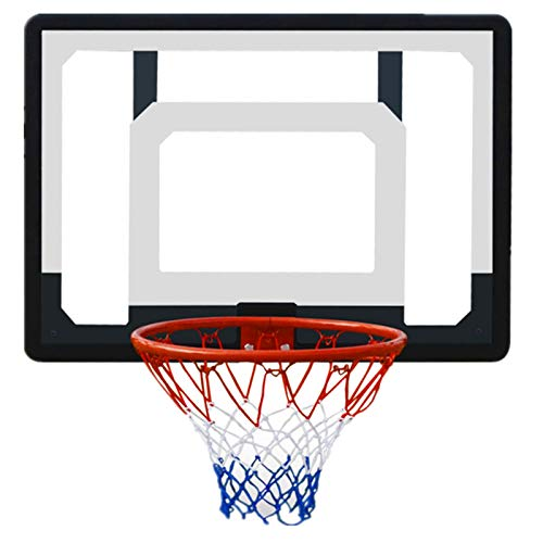 Sale!! ZXQZ Indoor Children's Suspended Basketball Stand, Wall-Mounted Door-Mounted Adult Basket Rin...