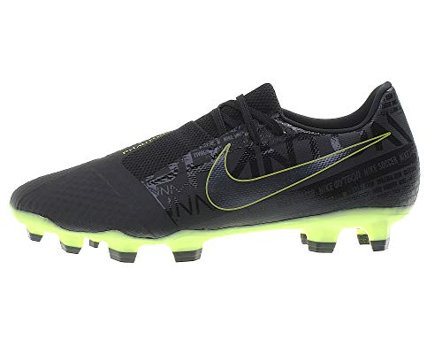 Nike Unisex Phantom Venom Academy Firm-Ground Fußballschuhe, Schwarz (Black/Black-Volt 007), 39 EU