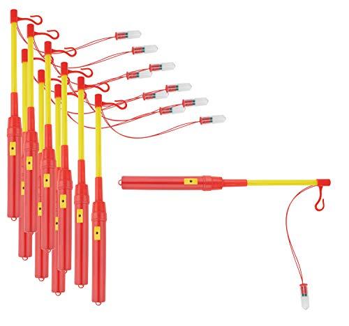 10 tiges électriques pour lanterne, Gros acheteurs VBS