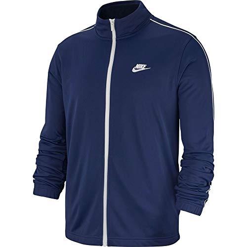 Nike Herren M NSW CE TRK Suit PK Basic Tracksuit, Midnight Navy/White/(White), M