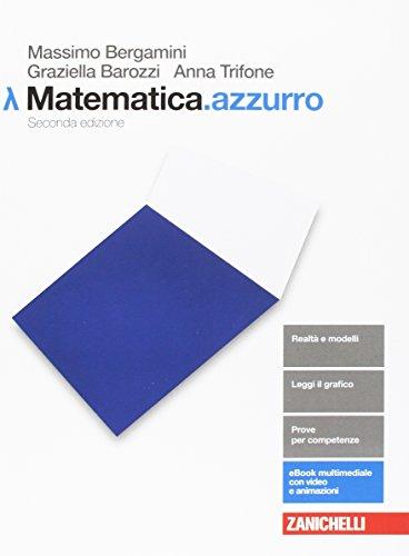 Matematica.azzurro. Modulo Lambda. La matematica per l'economia. Per le Scuole superiori. Con aggiornamento online