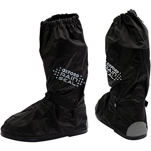 Nero Oxford Rainseal Pantaloni Antipioggia Over Pants Mutande da moto impermeabili pantaloni moto impermeabile