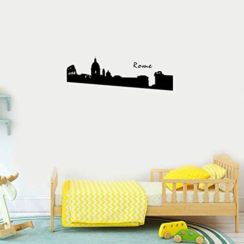 Groß The Rome City Landmark Rom Dekoration Rom Poster Aufkleber Für Kinder Schlafzimmer