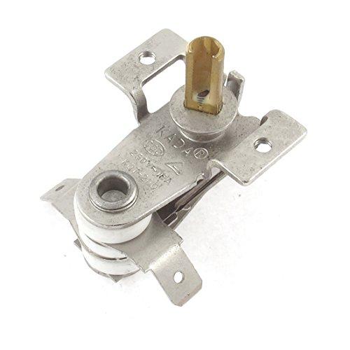 sourcingmap® AC 250V 16A 70 Celsius Bimetall einstellbare Temperatur Heizung Thermostat de