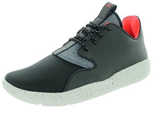 Nike Nike Jordan Eclipse Holiday Bg, Jungen Turnschuhe, Mehrfarbig - Schwarz/Grau (Schwarz/Schwarz-Dunkelgrau-Lght Bn) - Größe: 36 1/2