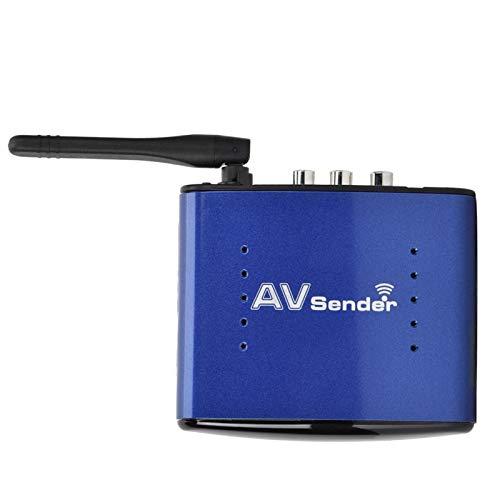 FOLOSAFENAR Transmisor y Receptor de Audio y Video inalámbrico Transmisor de AV inalámbrico Amplia compatibilidad para TV(European regulations)
