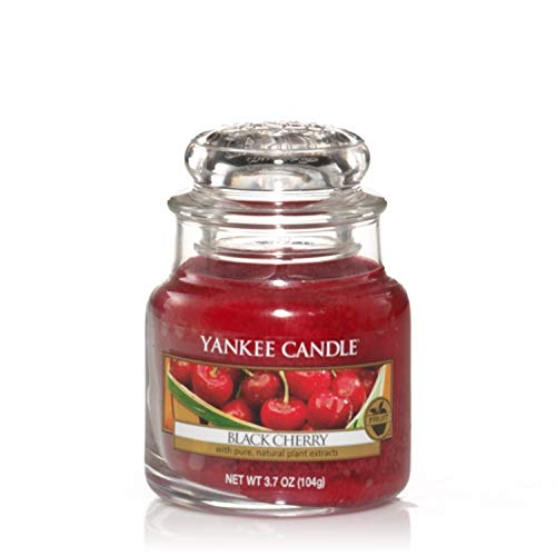 Yankee Candle vela en tarro pequeño, Cereza negra