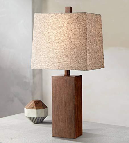 Traditional wood 5th wedding anniversary gift idea - lamp