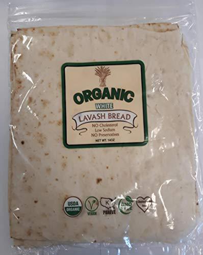 Organic Lavash Bread (White) Pack Of 3