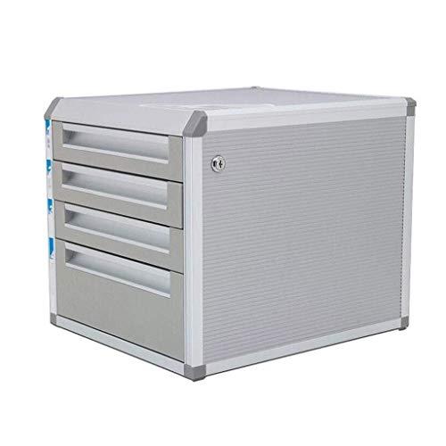 Szafy na dokumenty Klasyfikacja projektu z boku Duża przestrzeń do przechowywania plików Szafka biurkowa Dolna szuflada ze stopu aluminium Termin dostawy - regał 31,5x35,2x29,6cm