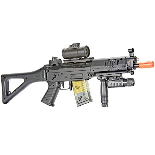 BBTac Airsoft Gun AEG Electric Gun Rifle Full Auto Package with Battery and Charger