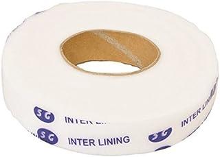 【白2cm幅】両面アイロン接着テープたっぷり80m 裾上げに、糸も針も不要 とっても便利です。【122-1】