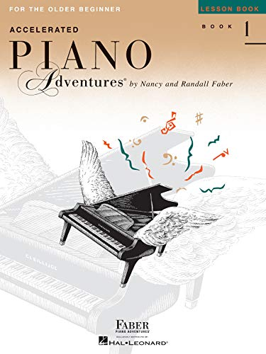 10. Accelerated Piano Adventures for the Older Beginner: Lesson Book 1
