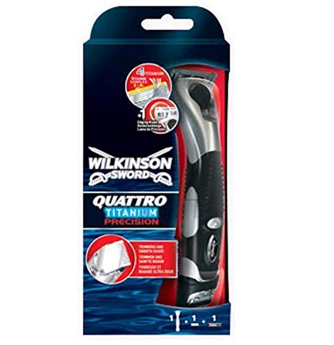 Wilkinson Quattro Titanium Precision Rasierer für Herren