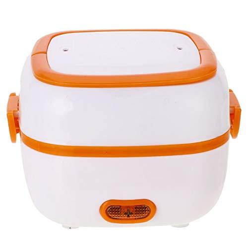 Fiambrera eléctrica de tipo nuevo, multifuncional, eléctrica, mini arrocera portátil, conservación del calor