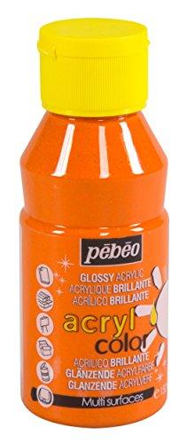 Pébéo 384171Acrylcolor Pintura Naranja Paillette 13,5X 7X 7cm