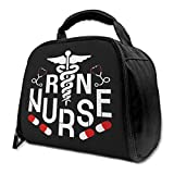 NE Strong Nurse Insulated Bag Lunch Bag Insulated Lunch Box Tote Bag Cooler Bag For Picnic Work