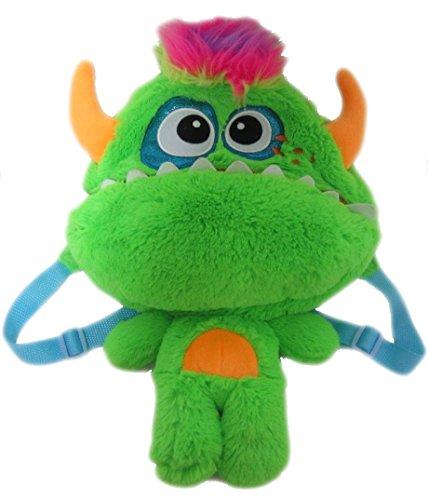 Monster Kinderrucksack Kinder Rucksack Tasche Kindergartentasche Kindergarten Jungen Mädchen Plüsch bunt 9028