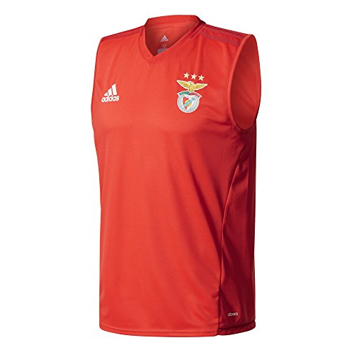 adidas Herren Sleeveless Benfica Lissabon Ärmelloses Trikot, Benred/Powred, 2XL