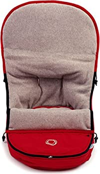 Bugaboo Frog Footmuff Color: Red