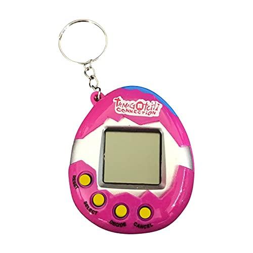 Xisimei 90s Virtuelle Haustiere Spielzeug Retro Haustier-Spielekonsole Handheld-Spielzeug Mini Elektronische Tiere Mit Schlüsselring Frühpädagogisches Puzzle-Geschenk für Kinder Erwachsene