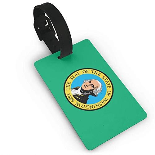 shenguang Bandera del Estado de Washington Etiquetas para Bolsas de Equipaje Etiquetas de Viaje Etiqueta de identificación de Viaje