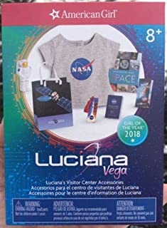 American Girl Luciana Vega's Visitor Center Accessories for 18