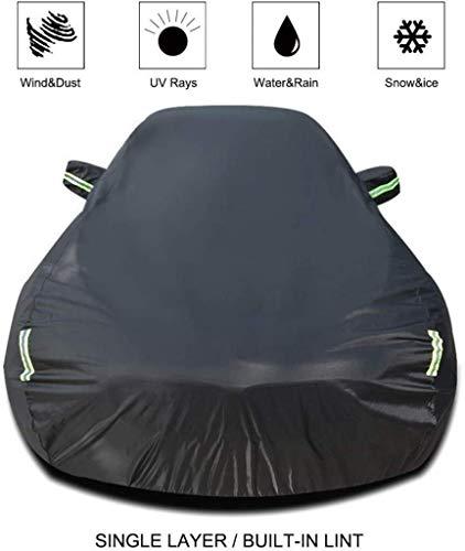 Cylficl Autokleidung Autoabdeckung Kompatibel mit Nissan SYLPHY Car Cover Car Plane Allwetter Regen Sonnenschutz Winddichtes Staubdichtes Outdoor Indoor Car-Schild (Größe, Einbauschränke lint), Einbau
