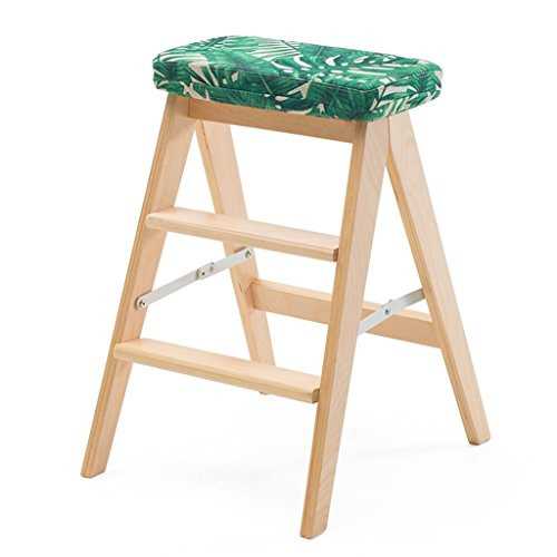 Yxsd trapladder, werkbank van massief hout, creatief, eenvoudige ladder, inklapbaar, draagbare kruk