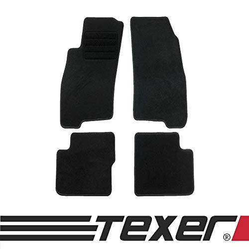 CARMAT TEXER Textil Fußmatten Passend für FIAT Grande Punto Bj. 2005-2009 Basic