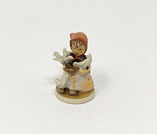 "Miniature #61-2109 Hummel Olszewski Figurine""Cinderella"" First Edition 10,000"