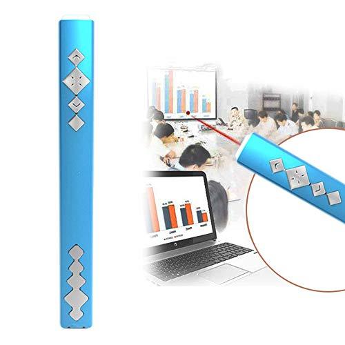 SanyaoDU Multimedia Draadloze Flip Pen Infrarood Elektronica, 15M Afstandsbediening Afstand, Ingebouwde Mini USB-ontvanger Hyperlink, Presentatie Pointer voor diavoorstelling