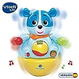 VTech 3480-166422 Nino Têtièse Jouet interactif avec des Phrases joyeuses et des mélodies Lorsque Le bébé Le déplace