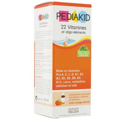 Pediakid 22 Vitamins & Trace Elements 125ml by Pediakid