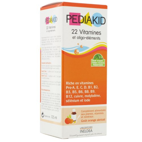 Pediakid 22 Vitamins & Trace Elements 125ml by Pediakid