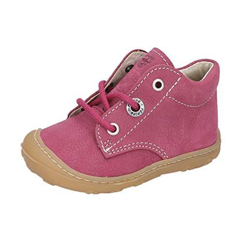 RICOSTA Kinder Lauflern Schuhe Cory von Pepino, Weite: Mittel (WMS),terracare, Spielen detailreich Freizeit leger,Fuchsia,23 EU / 6 Child UK