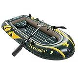 Juego De Kayak Inflable, Bote A La Deriva Para 2/3 Personas Con Remos Y Bomba De Aire, Bote De Pesca En Balsa Flotante Resistente Al Desgaste Portátil, Bote De Pesca En Balsa Flotante Lakes Coast