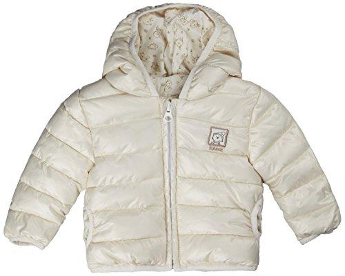 Kanz Unisex Baby Anorak m. Kapuze Jacke, Elfenbein (snow white white 1050), 74