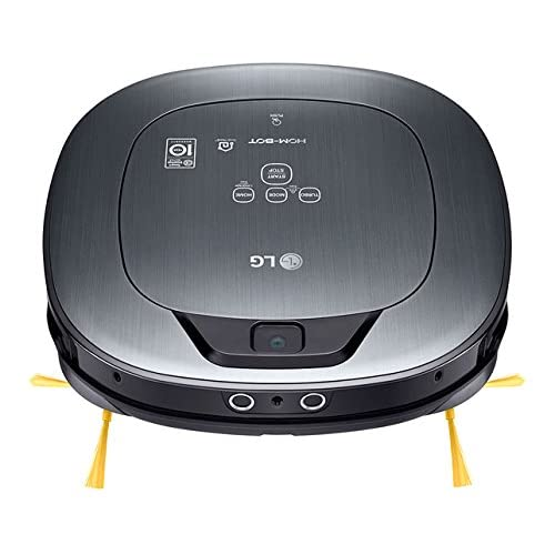 LG VSR9640PS - Hombot Turbo Serie 12. Robot aspirador, video vigilancia avanzada, color