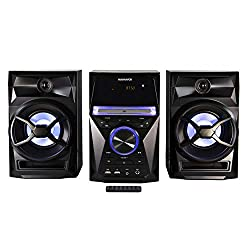 top rated Magnavox MM441 CD shelf system, 3 parts, digital stereo FM radio with PLL, wireless Bluetooth… 2021