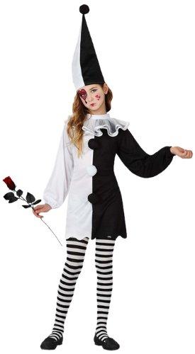 Atosa - Disfraz de arlequín para niña, talla 5-6 años (16041)