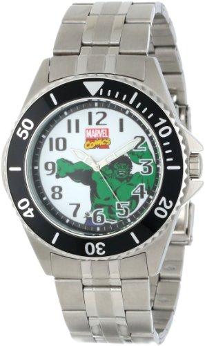 Marvel Comics de Los Hombres W000528Hulk Honor Reloj de Pulsera de Acero Inoxidable