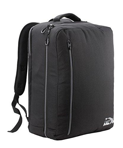 Cabin Max Durham mochila equipaje de mano 50x40x20cm (Negro/Gris)
