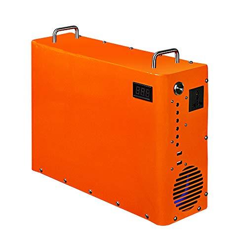 ECOWORTHY 1000W Tragbarer Koffergenerator 1 kW · h LiFePO4-Batterie für Energiespeicher Gewerbliches Beleuchtungssystem Kraftwerk Notfall
