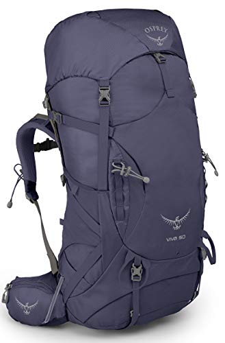Osprey Viva 50 Women's Backpacking Pack, Mercury Purple, One Size