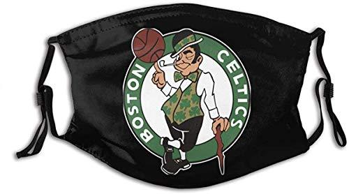 Unisex Nasenmund Anti Staubschutz Celtics Boston Verstellbare Mundschutz