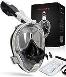 Hyponix Schnorchelmaske Vollmaske | Tauchermaske | Tauchmaske | Full Face Snorkel Mask mit sicherer...