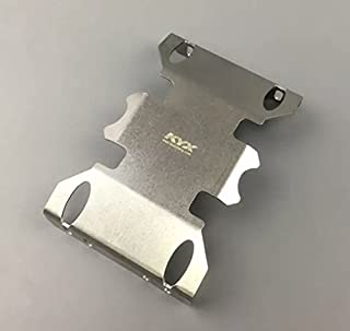 TMS RC Stainless Steel Skid Plate Guard for Axial SCX10 II
